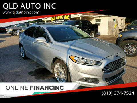 2016 Ford Fusion for sale at QLD AUTO INC in Tampa FL