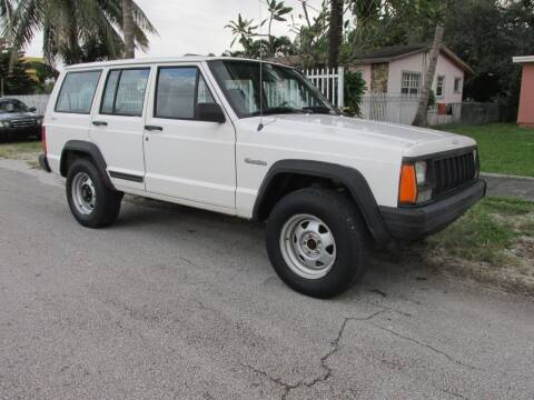 1996 Jeep Cherokee for sale at TROPICAL MOTOR CARS INC in Miami FL