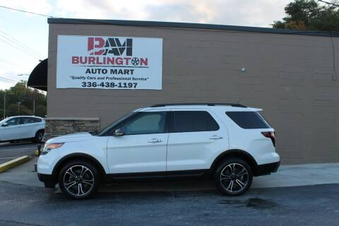 2014 Ford Explorer for sale at Burlington Auto Mart in Burlington NC