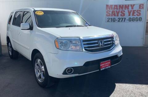 2013 Honda Pilot for sale at Manny G Motors in San Antonio TX