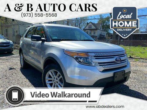 2015 Ford Explorer for sale at A & B Auto Cars in Newark NJ