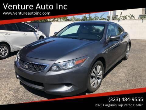 2009 Honda Accord for sale at Venture Auto Inc in South Gate CA