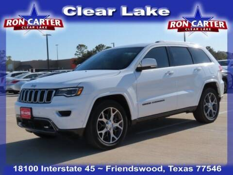 2018 Jeep Grand Cherokee for sale at Ron Carter  Clear Lake Used Cars in Houston TX