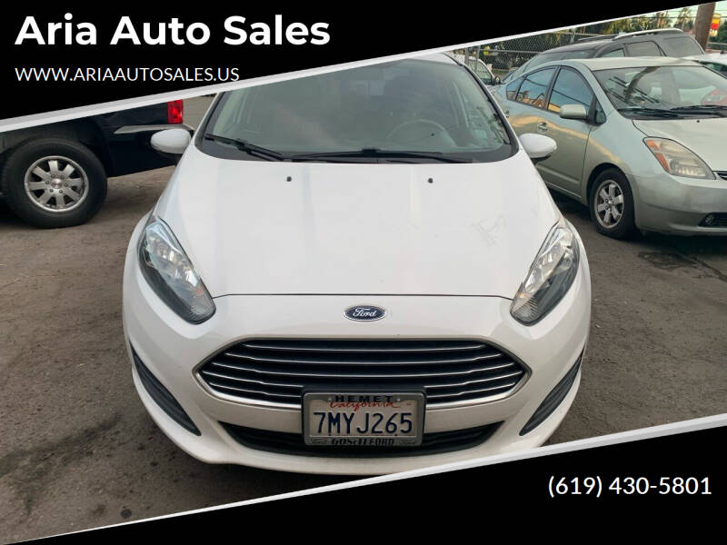 2015 Ford Fiesta for sale at Aria Auto Sales in El Cajon CA
