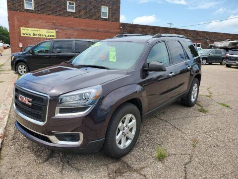 2015 GMC Acadia for sale at Vossen Auto LLC in Blue Earth MN