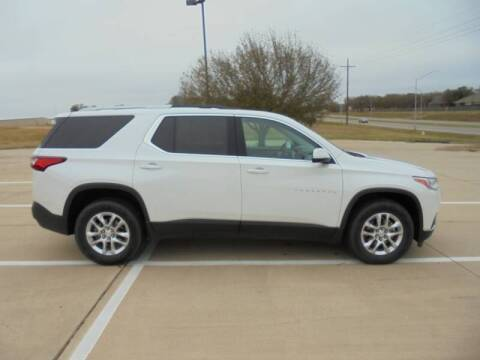 2018 Chevrolet Traverse for sale at MANGUM AUTO SALES in Duncan OK