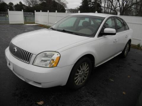 2007 Mercury Montego for sale at Victorian City Car Port INC in Manistee MI