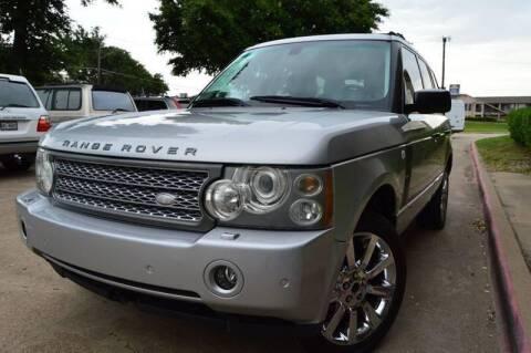 2006 Land Rover Range Rover for sale at E-Auto Groups in Dallas TX