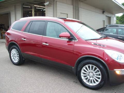 2010 Buick Enclave for sale at North Metro Auto Sales in Cambridge MN