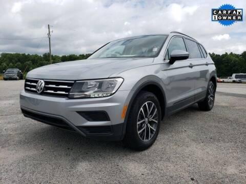 2019 Volkswagen Tiguan for sale at Hardy Auto Resales in Dallas GA