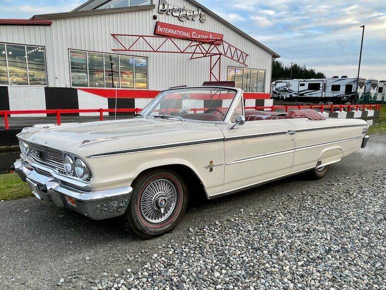 1963 Ford Galaxie for sale at Drager's International Classic Sales in Burlington WA