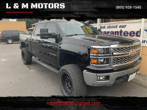 2014 Chevrolet Silverado 1500 for sale at L & M MOTORS in Santa Maria CA