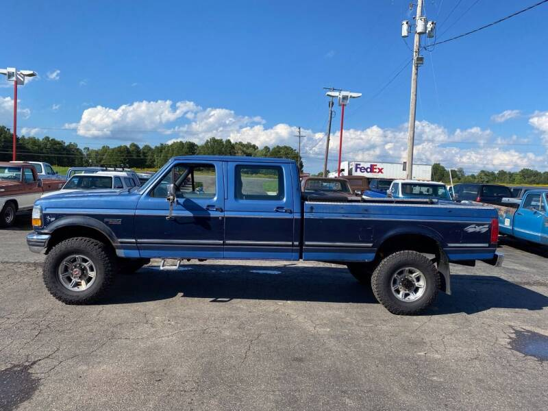 1992 Ford F-350 for sale at FIREBALL MOTORS LLC in Lowellville OH