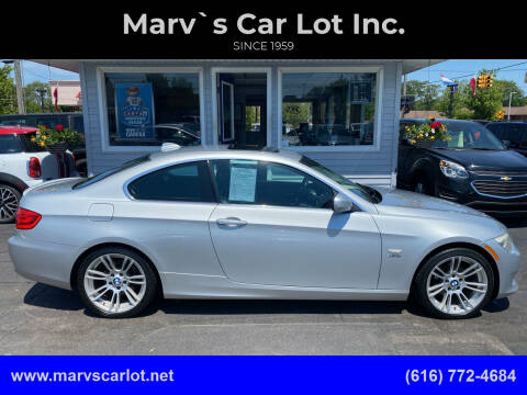 2011 BMW 3 Series for sale at Marv`s Car Lot Inc. in Zeeland MI