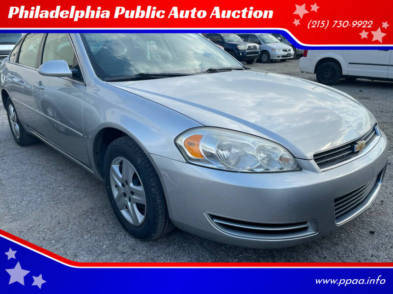 2007 Chevrolet Impala for sale at Philadelphia Public Auto Auction in Philadelphia PA