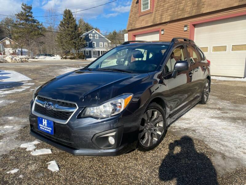 2012 Subaru Impreza for sale at Hornes Auto Sales LLC in Epping NH