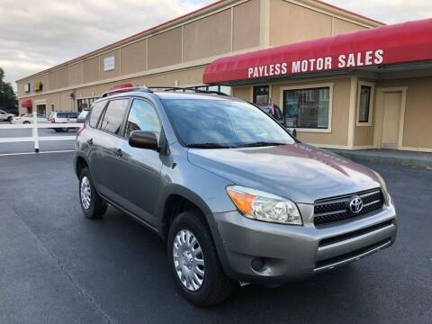 2007 Toyota RAV4 for sale at Payless Motor Sales LLC in Burlington NC