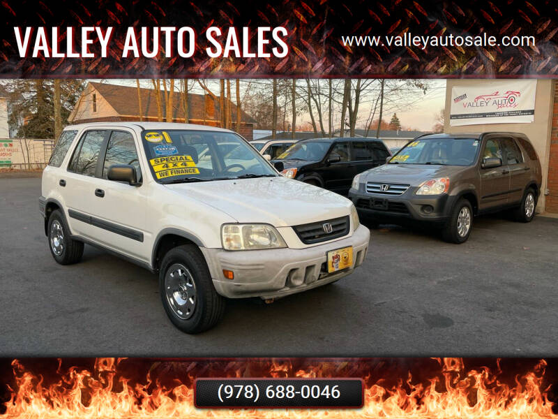 2001 Honda CR-V for sale at VALLEY AUTO SALES in Methuen MA