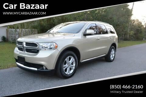 2011 Dodge Durango for sale at Car Bazaar in Pensacola FL