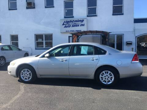 2006 Chevrolet Impala for sale at Lightning Auto Sales in Springfield IL