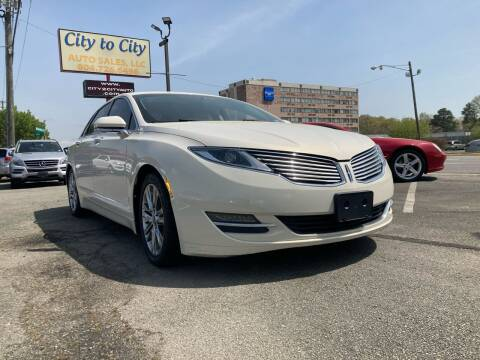 2013 Lincoln MKZ for sale at City to City Auto Sales in Richmond VA