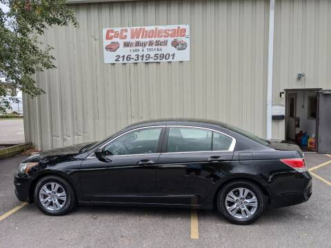 2012 Honda Accord for sale at C & C Wholesale in Cleveland OH