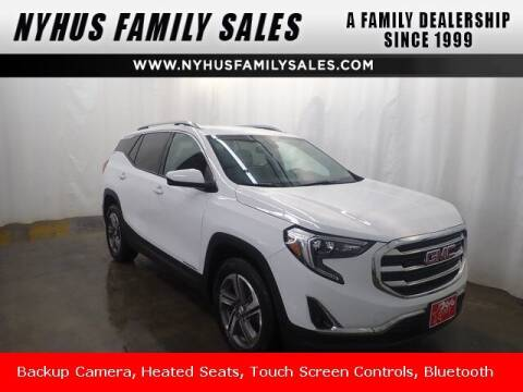 2019 GMC Terrain for sale at Nyhus Family Sales in Perham MN