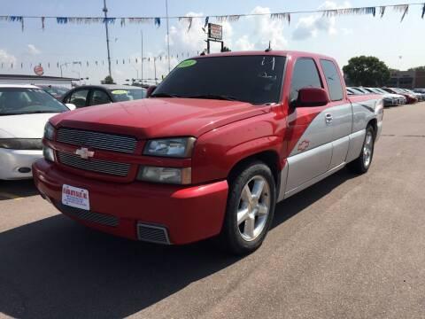 2003 Chevrolet Silverado 1500 SS for sale at De Anda Auto Sales in South Sioux City NE