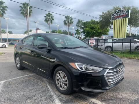 2017 Hyundai Elantra for sale at MIAMI FINE CARS & TRUCKS in Hialeah FL