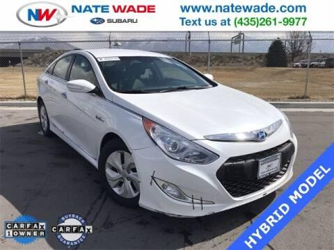 2014 Hyundai Sonata Hybrid for sale at NATE WADE SUBARU in Salt Lake City UT