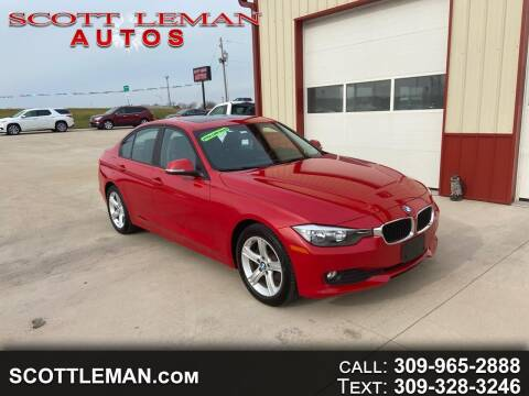 2015 BMW 3 Series for sale at SCOTT LEMAN AUTOS in Goodfield IL