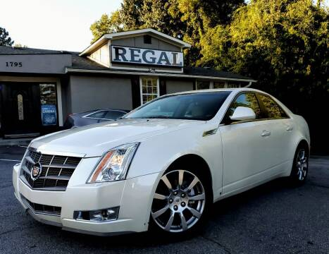 2008 Cadillac CTS for sale at Regal Auto Sales in Marietta GA
