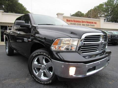 2018 RAM Ram Pickup 1500 for sale at North Georgia Auto Brokers in Snellville GA