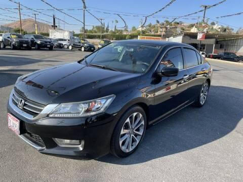 2015 Honda Accord for sale at Los Compadres Auto Sales in Riverside CA