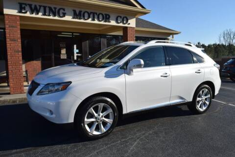2010 Lexus RX 350 for sale at Ewing Motor Company in Buford GA