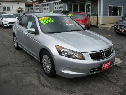 2008 Honda Accord for sale at CLASSIC MOTOR CARS in West Allis WI