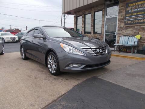 2012 Hyundai Sonata for sale at Preferred Motor Cars of New Jersey in Keyport NJ