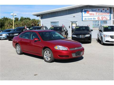 2013 Chevrolet Impala for sale at My Value Car Sales in Venice FL