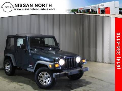 2005 Jeep Wrangler for sale at Auto Center of Columbus in Columbus OH