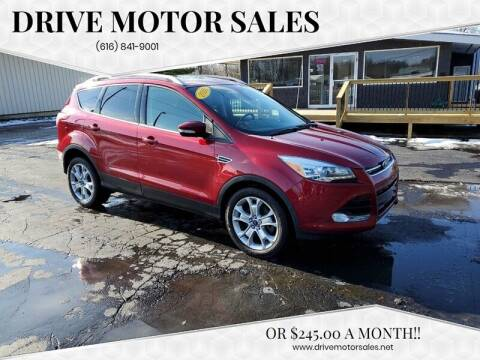 2016 Ford Escape for sale at Drive Motor Sales in Ionia MI