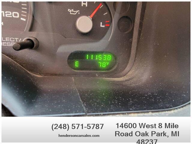2004 Ford Explorer for sale at Henderson Automotive, LLC in Oak Park MI