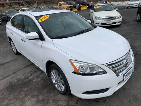 2015 Nissan Sentra for sale at Bob Karl's Sales & Service in Troy NY