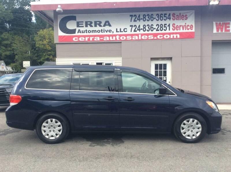 2008 Honda Odyssey for sale at Cerra Automotive LLC in Greensburg PA