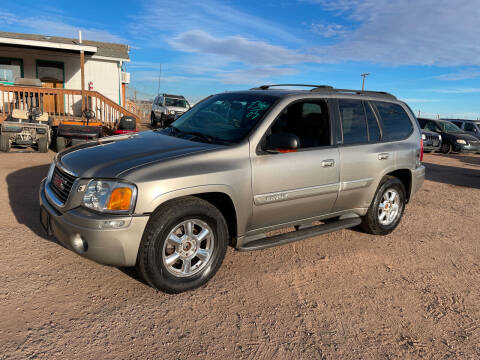 2003 GMC Envoy for sale at PYRAMID MOTORS - Fountain Lot in Fountain CO