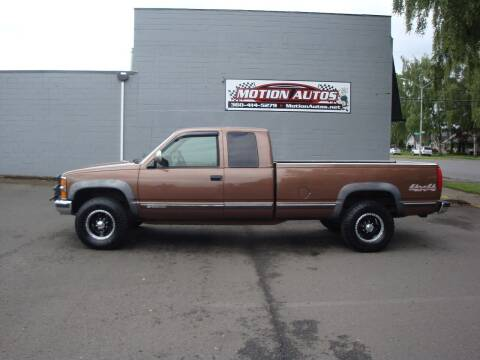 1994 Chevrolet C/K 2500 Series for sale at Motion Autos in Longview WA