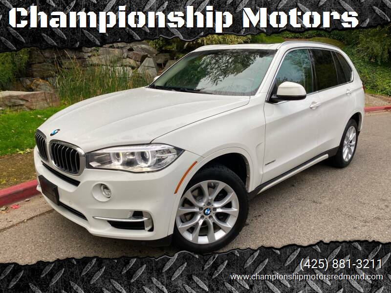2014 BMW X5 for sale at Championship Motors in Redmond WA