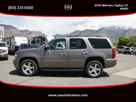 2012 Chevrolet Tahoe for sale at S S Auto Brokers in Ogden UT
