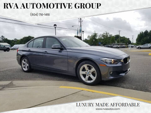 2013 BMW 3 Series for sale at RVA Automotive Group in North Chesterfield VA