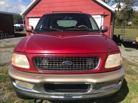 1998 Ford Expedition for sale at J Wilgus Cars in Selbyville DE