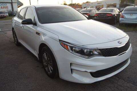 2017 Kia Optima for sale at Green Ride Inc in Nashville TN
